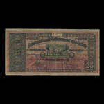 Canada, Government of Newfoundland, 25 cents <br /> 1914