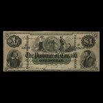 Canada, Province of Canada, 1 dollar <br /> October 1, 1866