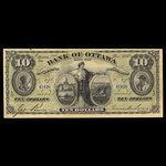 Canada, Bank of Ottawa (The), 10 dollars <br /> November 2, 1880