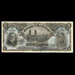 Canada, Banque d'Hochelaga, 5 dollars <br /> January 1, 1914