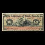 Canada, Sovereign Bank of Canada, 10 dollars <br /> May 1, 1905