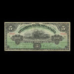 Canada, Sterling Bank of Canada, 5 dollars <br /> April 25, 1906