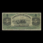 Canada, Union Bank of Canada (The), 5 dollars <br /> July 1, 1912
