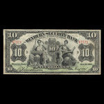 Canada, Weyburn Security Bank, 10 dollars <br /> January 3, 1911