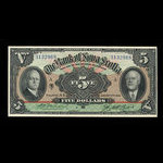 Canada, Bank of Nova Scotia, 5 dollars <br /> January 2, 1929