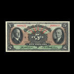 Canada, Bank of Nova Scotia, 5 dollars <br /> January 2, 1935