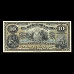 Canada, Bank of Nova Scotia, 10 dollars <br /> January 2, 1917