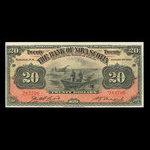 Canada, Bank of Nova Scotia, 20 dollars <br /> January 2, 1929