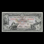 Canada, Canadian Bank of Commerce, 10 dollars <br /> January 2, 1935