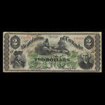 Canada, Dominion of Canada, 2 dollars <br /> July 1, 1870