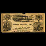 Canada, G.E. Panneton, no denomination <br /> 1887
