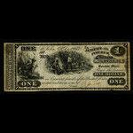 Canada, Jewett & Pitcher, 1 dollar <br /> December 1, 1873