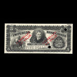 Canada, Imperial Bank of Canada, 5 dollars <br /> 1914