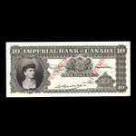 Canada, Imperial Bank of Canada, 10 dollars <br /> 1914