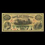 Canada, Bank of Toronto (The), 20 dollars <br /> February 1, 1913