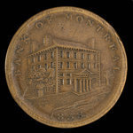 Canada, Bank of Montreal, 1/2 penny <br /> 1838