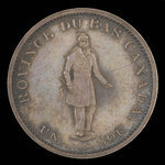 Canada, Bank of Montreal, 1/2 penny <br /> 1844