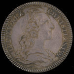 France, Louis XV, no denomination <br /> 1758
