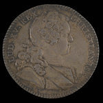France, Louis XV, no denomination <br /> 1725