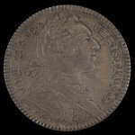 France, Louis XV, no denomination <br /> 1751