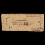 Canada, William Price & Son, 12 sous <br /> October 31, 1860