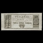 Canada, W. & J. Bell, 12 pence <br /> 1839