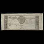 Canada, W. & J. Bell, 15 pence <br /> 1839