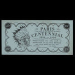 Canada, Town of Paris, 25 cents <br /> July 31, 1956