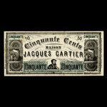 Canada, Jacques Cartier House, 50 cents <br /> 1915