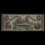 Canada, Dominion of Canada, 2 dollars <br /> July 1, 1870