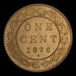 Canada, Victoria, 1 cent <br /> 1876