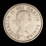 Canada, Elizabeth II, 25 cents <br /> 1964