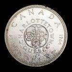 Canada, Elizabeth II, 1 dollar <br /> 1964