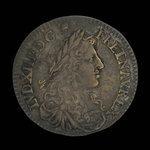 France, Louis XIV, 5 sols <br /> 1670