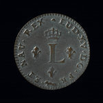 France, Louis XV, 2 sous <br /> 1755