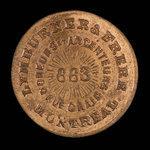 Canada, Lymburner & Brother, no denomination <br /> 1879