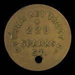 Canada, Ottawa Key Trust Company, no denomination <br /> 1895