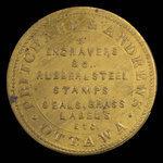 Canada, Pritchard & Andrews, no denomination <br /> 1895