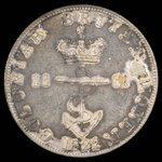 Great Britain, George IV, 1/2 dollar <br /> 1822