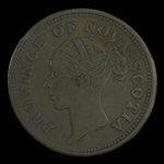 Canada, Province of Nova Scotia, 1 penny <br /> 1840