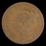 Canada, Province of Nova Scotia, 1 penny <br /> 1843