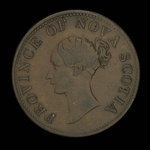 Canada, Province of Nova Scotia, 1/2 penny <br /> 1840