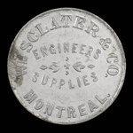 Canada, Wm. Sclater & Co., 1 fare <br /> 1892
