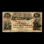 Canada, J.W. Ryan, 1 dollar <br /> 1880