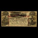 Canada, E. Morris, no denomination <br /> 1866