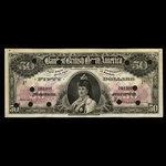 Canada, Bank of British North America, 50 dollars <br /> July 3, 1911