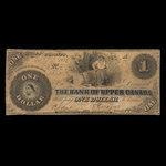 Canada, Bank of Upper Canada (York), 1 dollar <br /> July 8, 1859