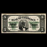 Canada, Canadian Bank of Commerce, 5 dollars <br /> January 1, 1879