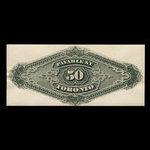 Canada, Dominion of Canada, 50 dollars <br /> March 1, 1872