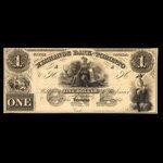 Canada, Exchange Bank of Toronto, 1 dollar <br /> May 1, 1855